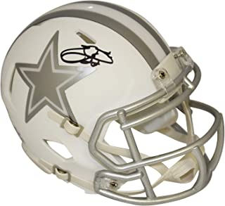 emmitt smith signed helmet