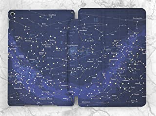 Galaxy Star Map Case For Apple iPad Mini 1 2 3 4 5 iPad Air 2 3 iPad Pro 9.7 10.5 11 12.9 inch iPad 9.7 inch 2017 2018 2019