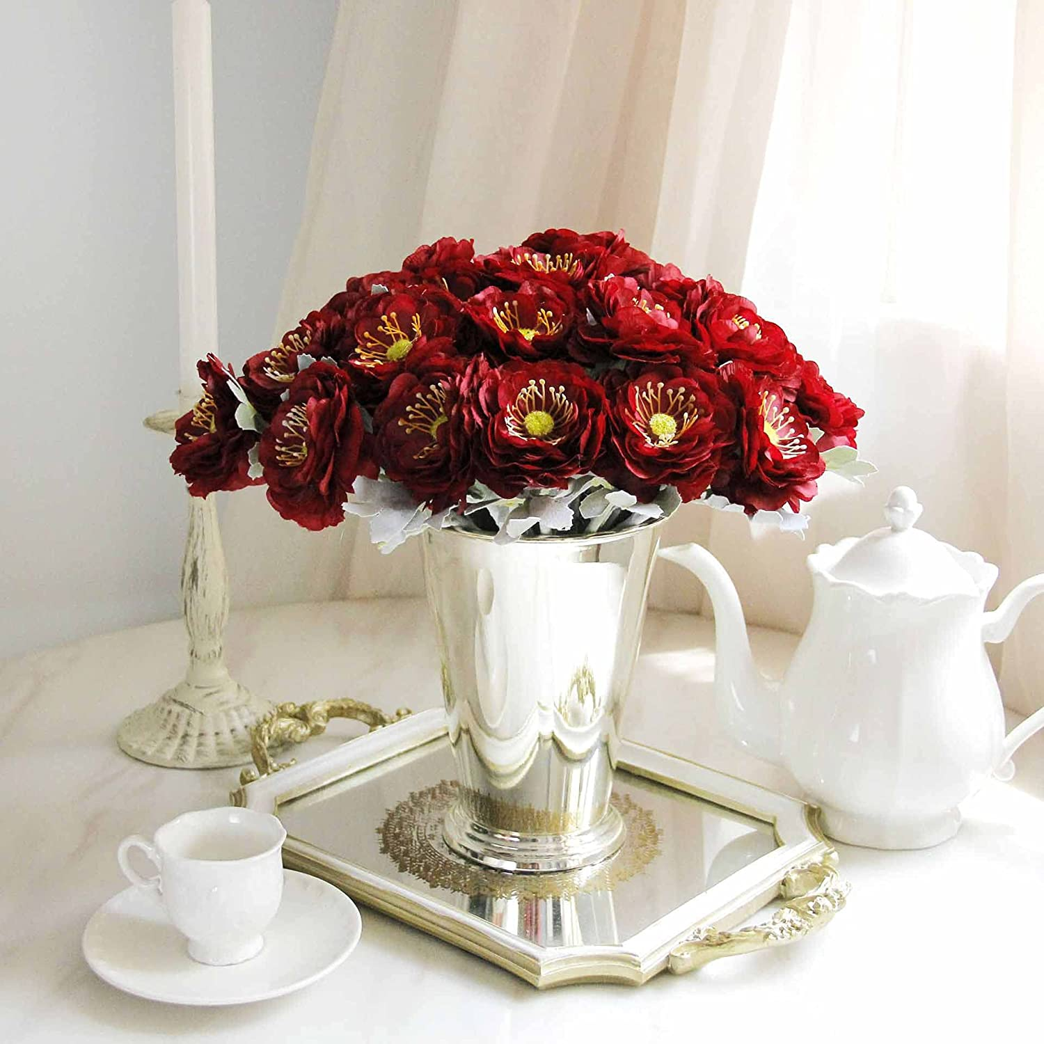 Artificial Max New product!! 85% OFF and Dried Flower 10pcs lot Wedding De Rose
