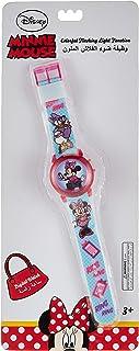 ساعة ديزني ميني للبنات الرقمية باضواء ملونة متغيرة في سوار ساعة اليد - SA8133 ميني