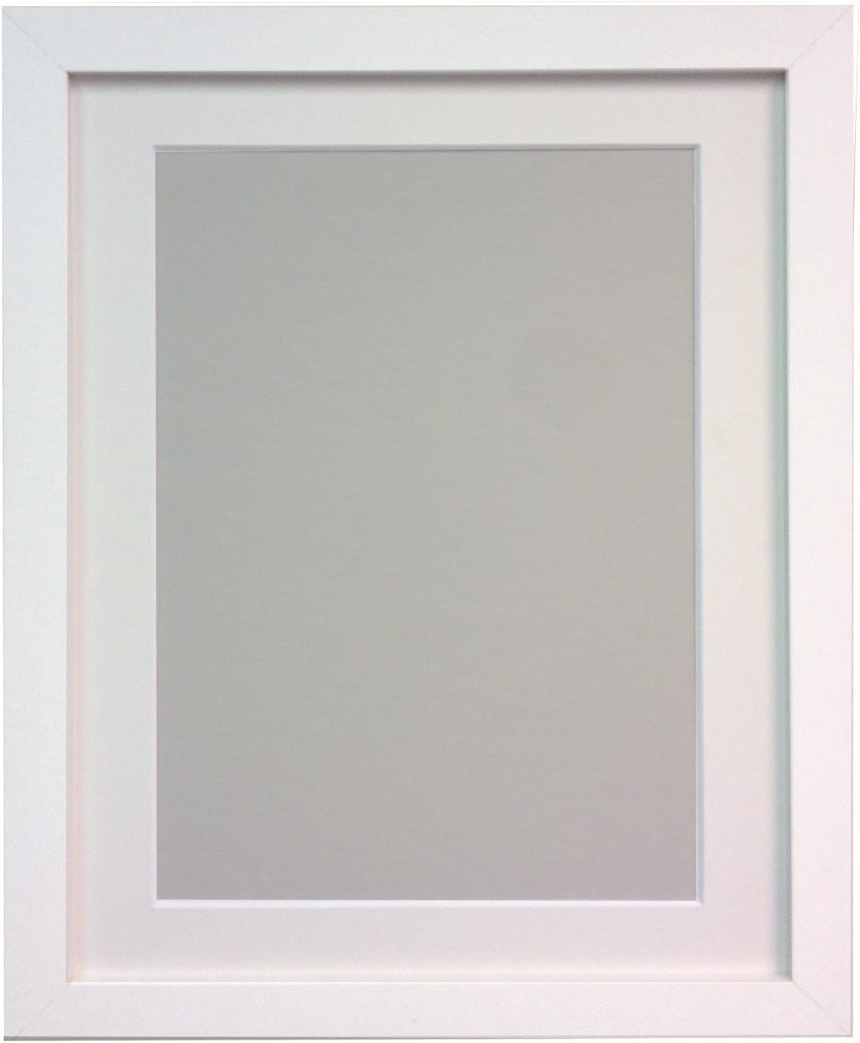 FRAMES BY POST H7 Picture quality Time sale assurance Photo White Mo with Wood Frame