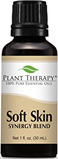 Plant Therapy Soft Skin Synergy Essential Oil 30 mL (1 oz) 100% Pure, Undiluted, Therapeutic Grade