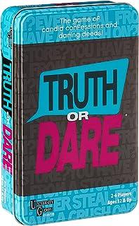 University Games 01387TIN Truth or Dare Tin