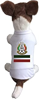 Dog Soccer Jersey Mexico-Pet T-shirt- Made of 100% Polyester-breathable Fabric-makes Dog Comfortable-cozy up Costume to Celebrate The Russia World Cup 2018-enjoy Your Football Team Passion.