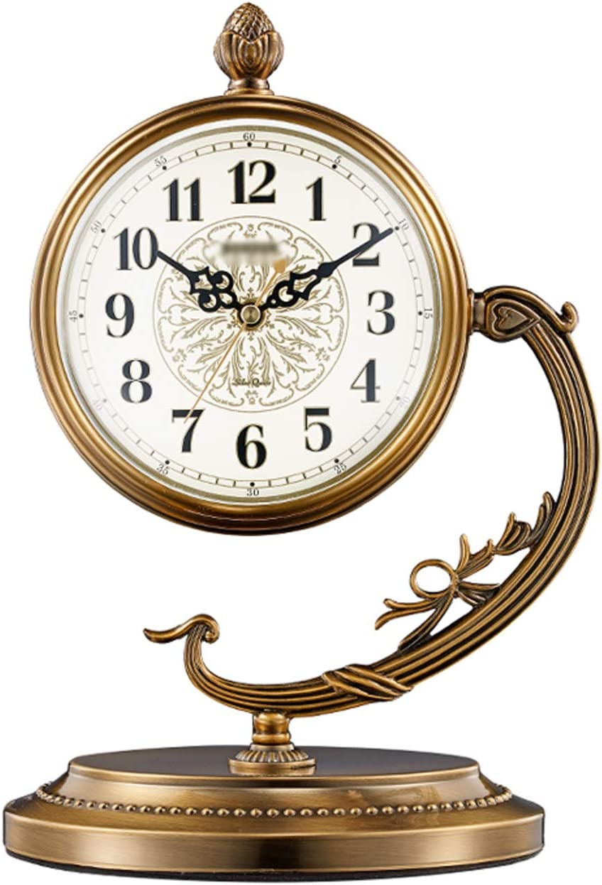 OMIDM Table Clock Creative Single-Sided Can Tabletop Metal A Max 65% OFF surprise price is realized