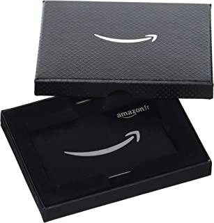 Carte cadeau Amazon.fr - Dans une Coffret Amazon sourire noire