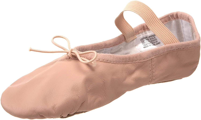 Bloch Girl's Today's only Dansoft 2021 Elastic Flats Pink Ballet