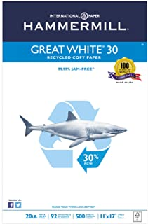 HAM86750 - Hammermill Great White Recycled Copy Paper