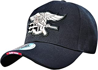Navy Seal Baseball Hat Embroidered Adjustable Navy Seal Cap Logo