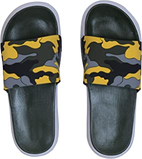 Hush Berry Military Print Flip Flop for Boys