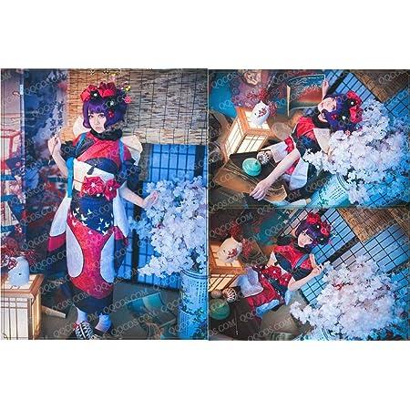 コスプレ衣装 Fate/Grand Order風 Fate/EXTRA風FGO葛飾北斎(かつしか ほくさい) 着物タイプ2豪華コスプレ衣装