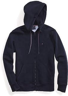 Tommy Hilfiger Men's Adaptive Hoodie Sweatshirt with Magnetic Zipper