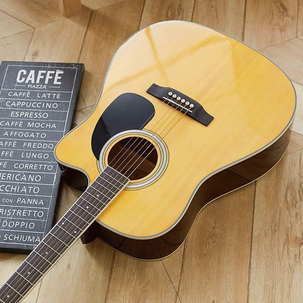 Boll-ATur 41in Principiante guitarra acústica de madera de abeto ...