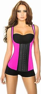 Ann Chery Women's 3 Hook Long Deportiva Latex Vest Body Shaper 2022