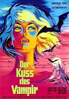 Posterazzi The Aka 'Kiss of The Vampire' German Art 1963. Movie Masterprint Poster Print (11 x 17)