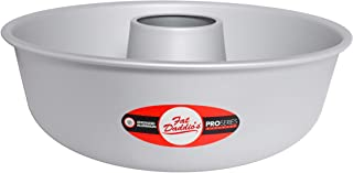 Fat Daddio's Cake RMP-12 Anodized Aluminum Ring Mold Pan, 12 x 4 Inch, Silver