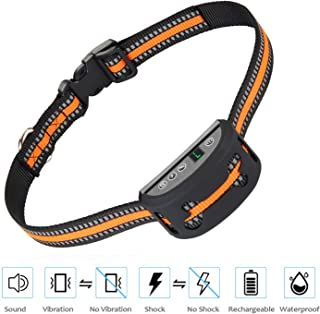 iWings Shock Collar for Small Dogs,Effective Dog Bark Collar with Triple Anti Barking Modes Collar,No Barking Collars for Medium Dogs