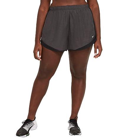 Nike Tempo Shorts Heather (Black Heather/Black/Black/Wolf Grey) Women