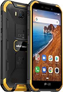 Rugged Smartphone Unlocked, Ulefone Armor X6 (2020) IP68 Waterproof Cell Phone, 5.0 inch, Android 9.0 2GB+16GB, 4000mAh Ba...