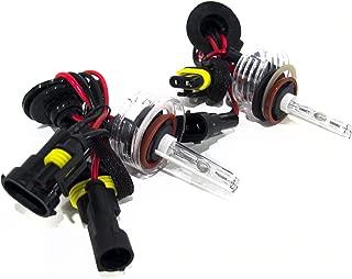 Race Sport H11-6K-SB-RB Replacement Bulb, Pair