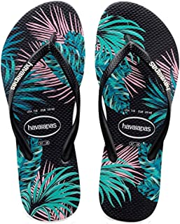 Havaianas Women's Top Tropical Flower Flip-Flops