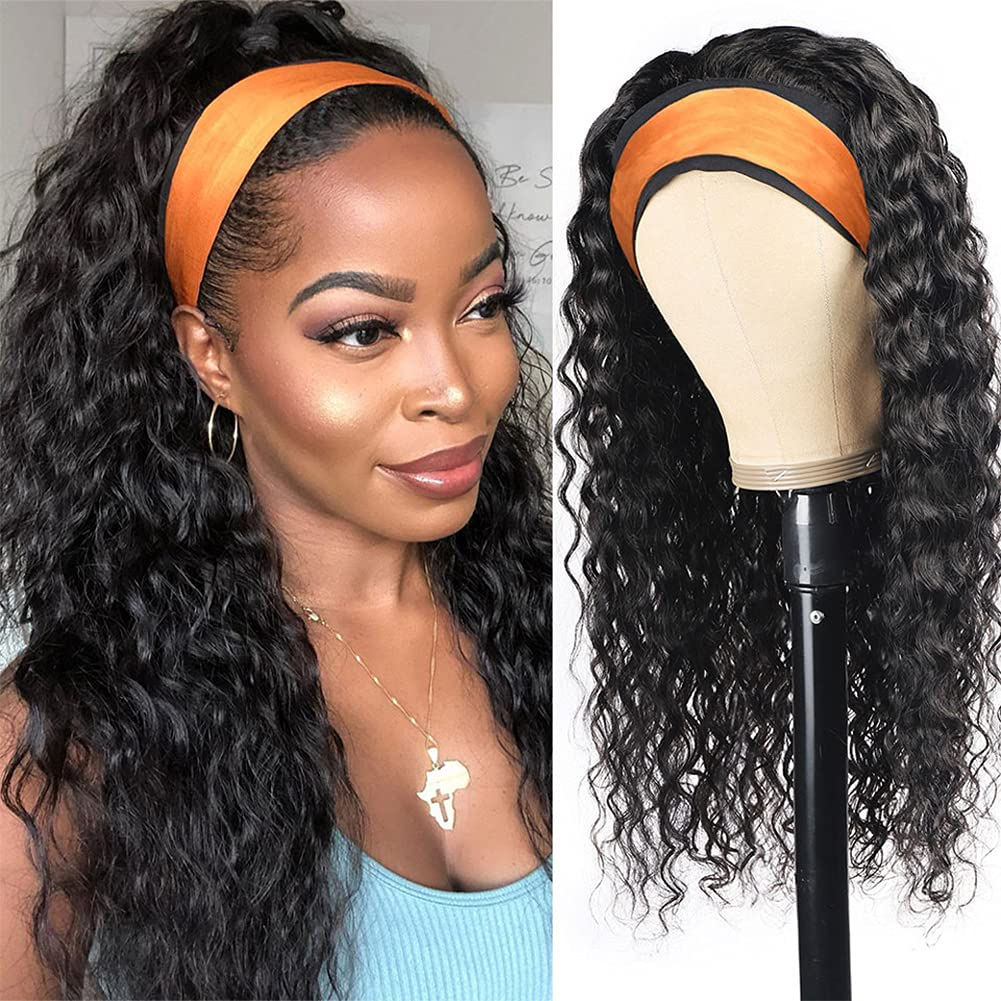 Headband Limited Special Price Wig Human 2021 new Hair Water for Black Wigs Women Wave