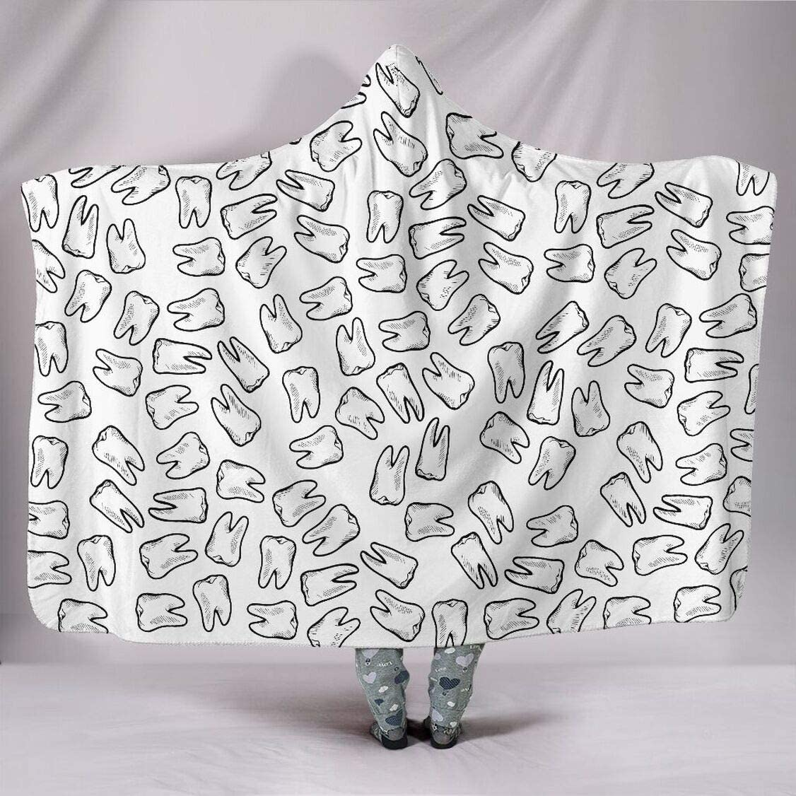 Personalized Hooded Blanket for - Max 41% OFF Blanke Wearable Dental Financial sales sale
