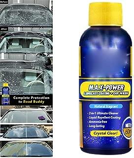 Friendgo Glass Coating Agent,Rainproof Agent ,60ml,Car Glass Anti-Fog Agent Mist Liquid Car Rainproof Agent Glass Coating Cleaner Rain Mark Remover