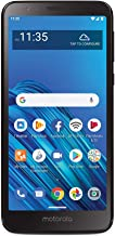 TracFone Motorola Moto E6 4G LTE Prepaid Smartphone (Locked) - Black - 16GB - Sim Card Included -...
