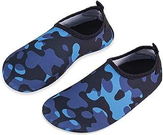 Toddler Kids Water Shoes Lightweight Non-Slip Aqua Socks...