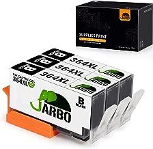 JARBO (3 Nero) Compatibile HP 364 XL Cartucce d'inchiostro Compatibile con HP Photosmart 5510 5511 5512 5514 5515 5520 5522 5524 6510 6520 6512 6515 7510 7520 7515 B8550 B8558 C5370 C5373 C5324 C6388 D5460 D5463 B110a B110c B010a B010b B111a B109a B109b C