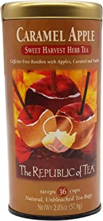 Sponsored Ad - The Republic of Tea Carmel Apple Red Tea, 36-Count, Packaging may vary