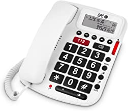 SPC Comfort volume teléfono fijo con teclas grandes y volumen extra alto