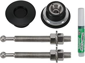 QL-38-LP/BP Quik-Latch Hood Pin Kit (Black Cerakote)