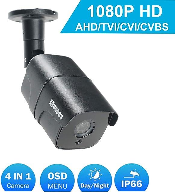 Cámara de Bala Interior/Exterior de 1080P cámara de vigilancia CCTV de Seguridad a Prueba de Polvo a Prueba de Polvo a Prueba de Polvo a Prueba de Intemperie a Prueba de Intemperie