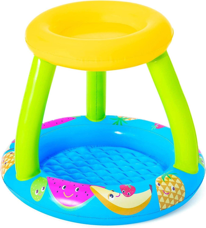 Bestway 52331 - Piscina Hinchable Infantil con Techo Fruit Canopy 94x89x79 cm
