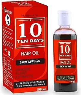 Hairole Ten 10 Days Hair Oil (For Men & Women)