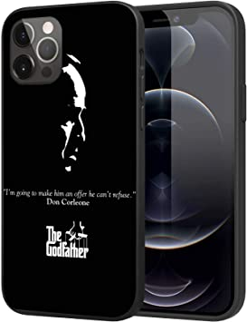 Phone Case for iPhone 12 / iPhone 12 Pro, Slim Case TPU Case (The-Godfather)