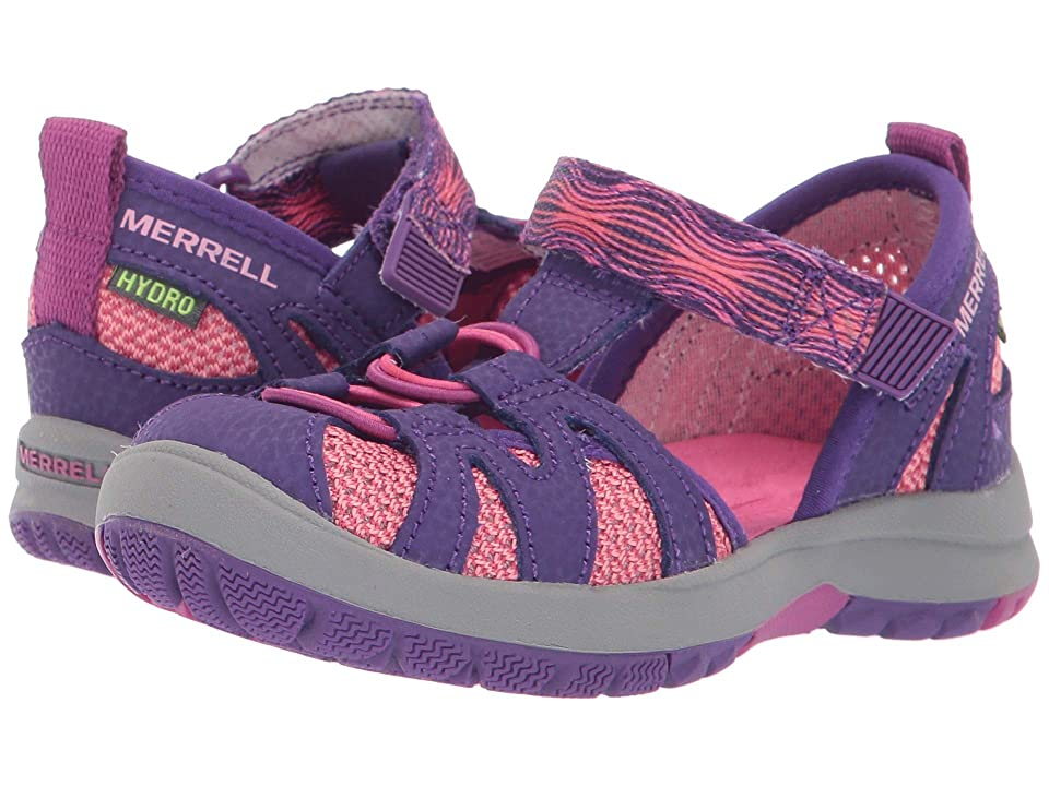 Merrell Kids Hydro Mon 2.0 (Toddler) (Berry/Purple) Girls Shoes