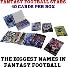 40 Fantasy Football Stars Card Collection + NFL Players include Rookies, Superstars, Veterans and Fantasy Football Heroes + GUARANTEED 2015 Fantasy Football Players such as Eddie Lacy, Adrian Peterson, Jamaal Charles, Dez Bryant, Julio Jones, Marshawn Lynch, Odell Beckham, Aaron Rodgers, Rob Gronkowski, Calvin Johnson, Matt Forte, AJ Green, Randall Cobb, Peyton Manning, Tom Brady ,Drew Brees and MORE! + Football Cards from Several Years + Ships in Protective Plastic Case Perfect for Gift Giving