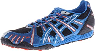 Color Negro y Plateado ASICS GY1019094 Spikes Cyber High Jump Zapatillas de Atletismo para Hombre