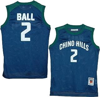 Chino Hills Huskies Lonzo Ball Blue High School Jersey