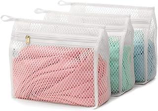 Generic Lot de 3 sacs à linge délicats pour machine à laver, sous-vêtements, collants, soutien-gorge, collants, chaussette...