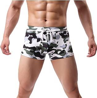 Sexy Men's Printing Swimming Trunks Beachwear Underwear Surf Boardshorts