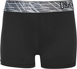 USA Pro Girls 3 Inch Training Shorts