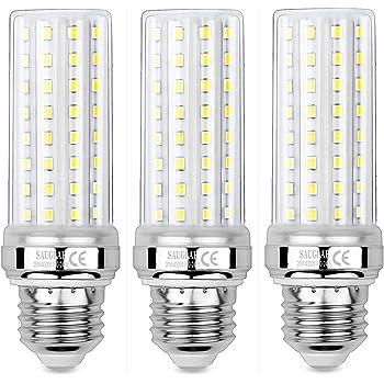 Yiizon Bombillas LED de ma/íz E27 20W equivalentes a bombillas incandescentes de 150 W 6000K Blanco Fr/ío 2000LM bombillas de tornillo E27 Edison bombillas LED de candelabro no regulable 4 Paquete