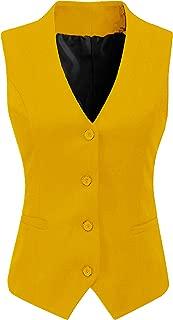 yellow waistcoat womens