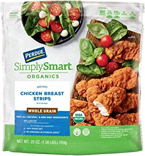 Perdue Simply Smart Organics Whole Grain Chicken Breast Strips, 25 oz. (Frozen)