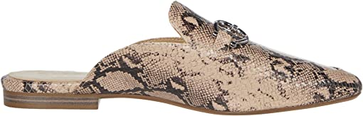 Barely Nude Snake Print Leather