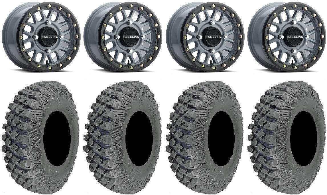 Bundle Max 79% OFF - 9 Items: Raceline Podium Bdlk Wheels Gy +38mm 32